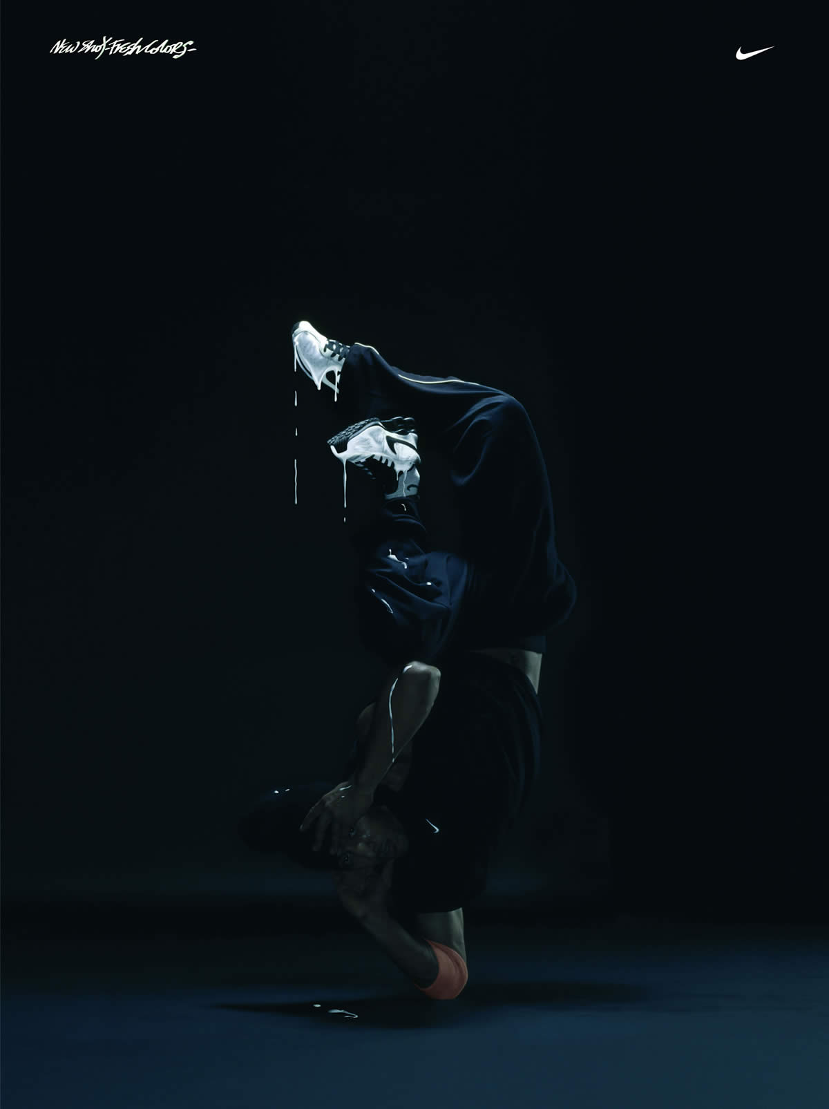 И классные рекламные фотки - Nike Shox BreakDancer...