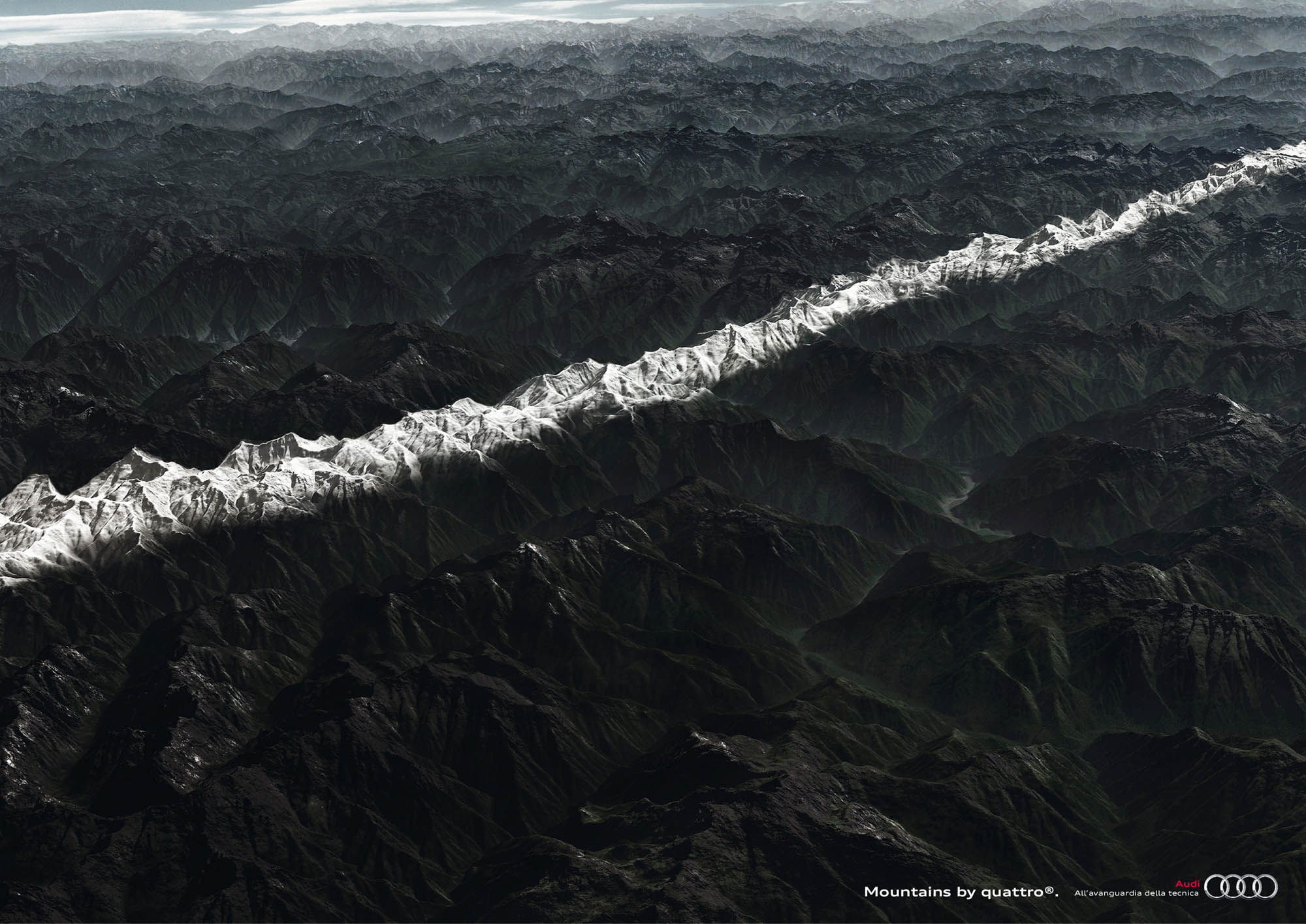 Audi Quattro: Mountains
