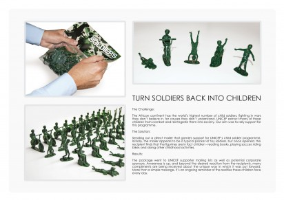 UNICEF_Toy Soldiers