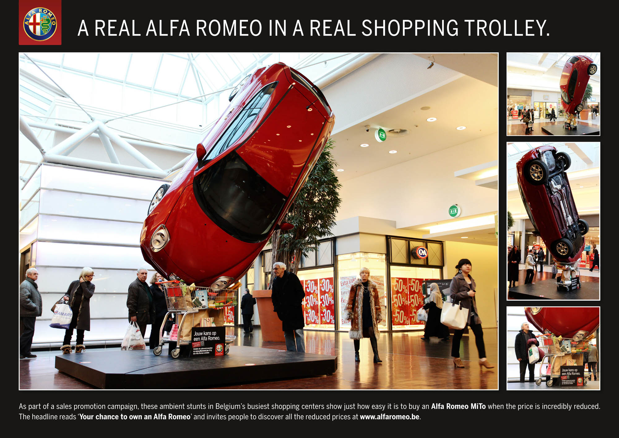 Alfa Romeo: Shopping Trolley