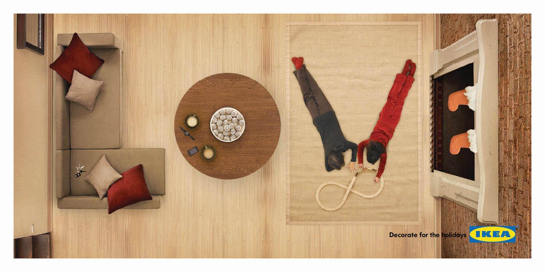 ikea on Advertising Blog   Community    Ikea  Joy  Hope  Love  Paix
