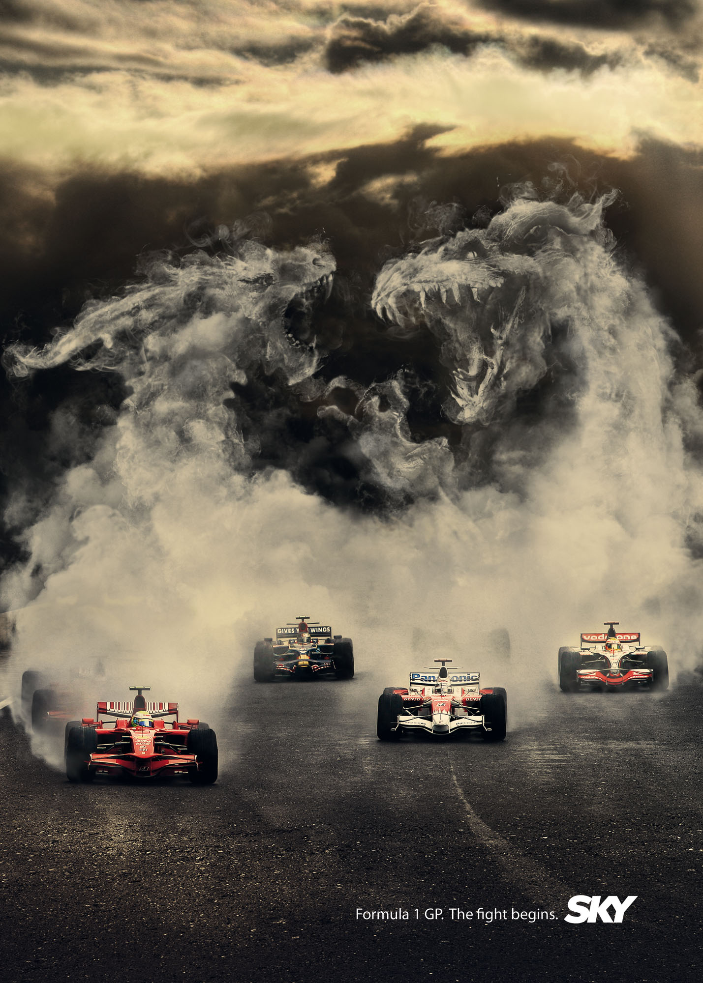 ... ADVERTISING | Advertising Blog & Community » SKY: F1 Monsters