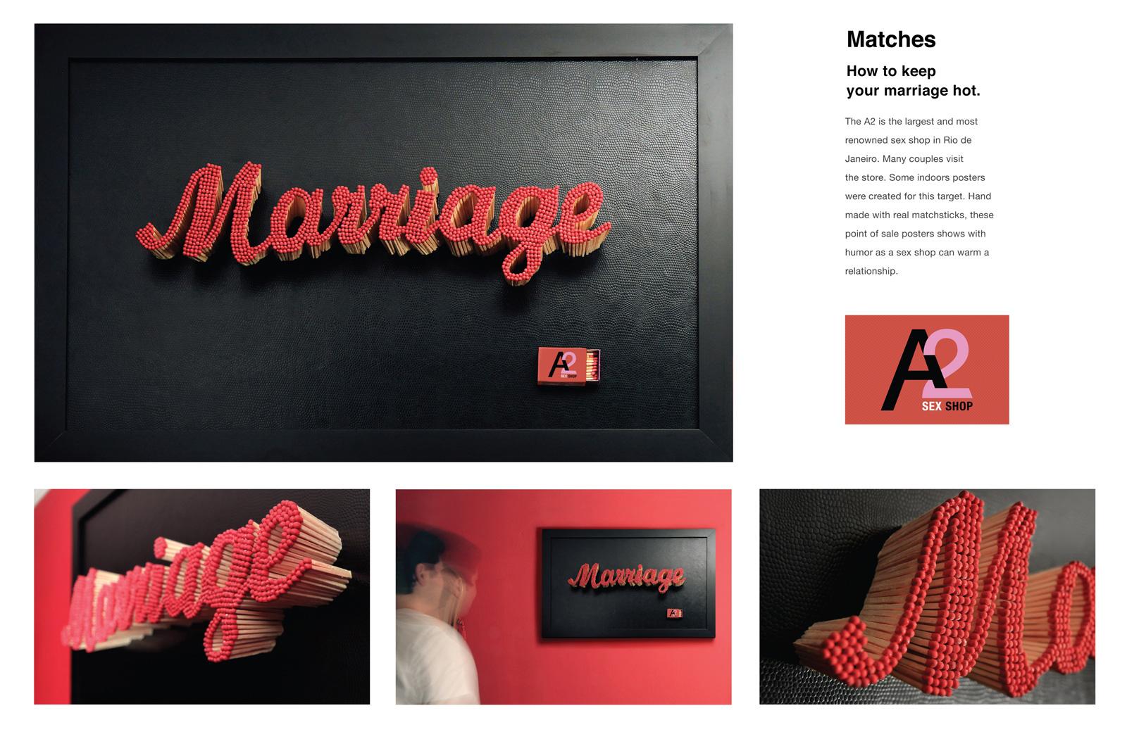 a2 marriage sexshop Advertising Agency: Loja Comunicação, Rio de Janeiro, Brazil