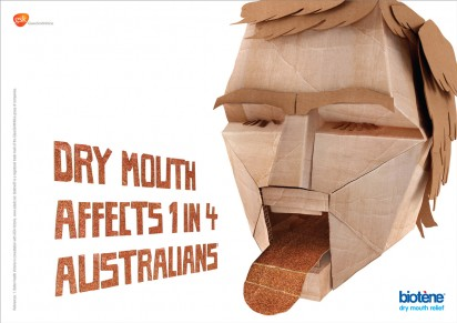 Biotene: Cardboard mouth