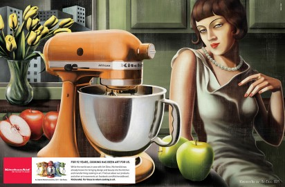 kitchen aid art deco