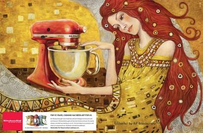 kitchen aid art nouveau