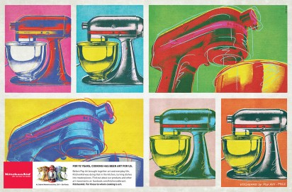 kitchenaid pop art