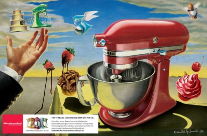 kitchen aid surrealism
