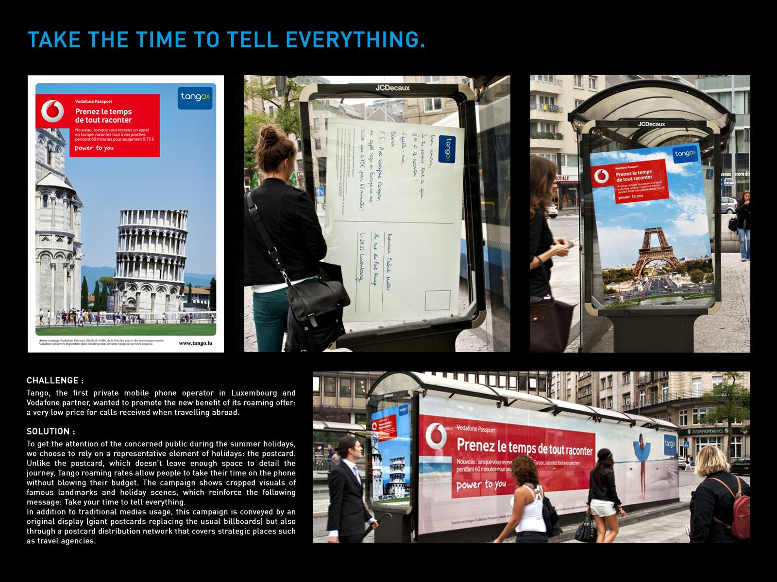 Vodafone Tango Postcards ibelieveinadv Originally Posted by kyee7k ...