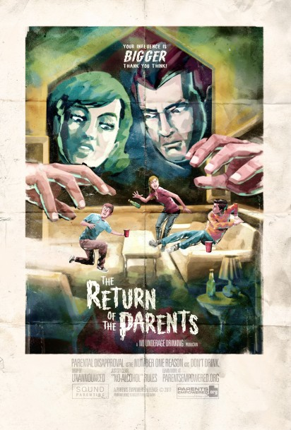 pe the return of the parents poster