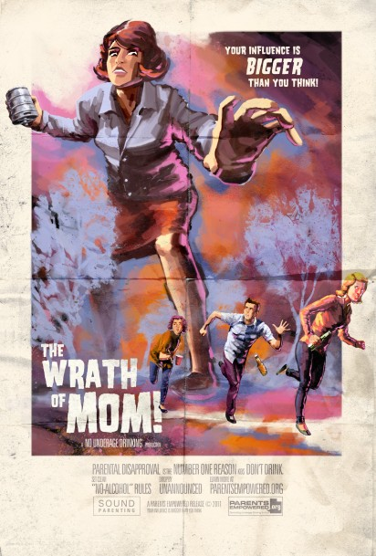 pe the wrath of mom poster
