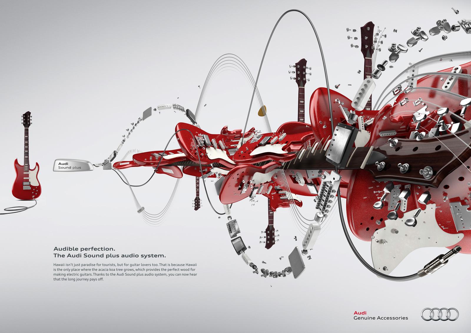 Audi - guitar ad