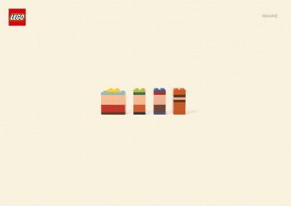 LEGO ad campaign