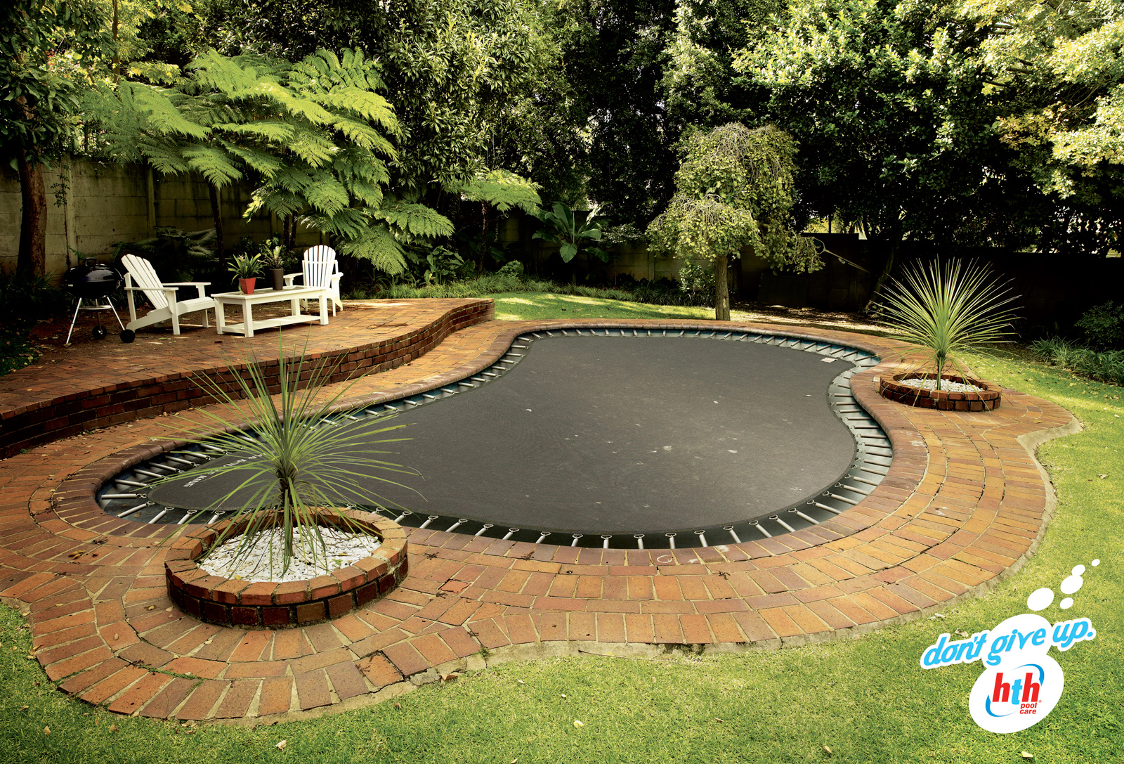 I believe in changes for Garden pool zen area