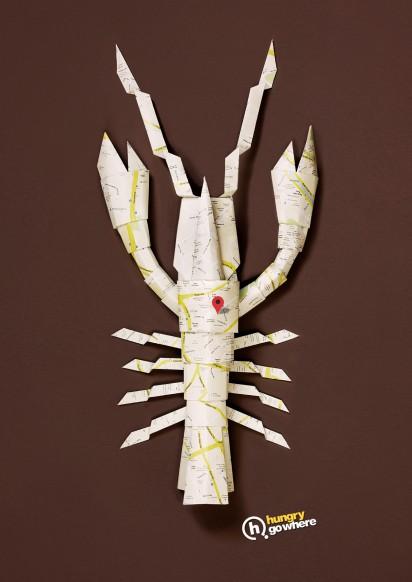 BBDO sg hgw_origami_lobster