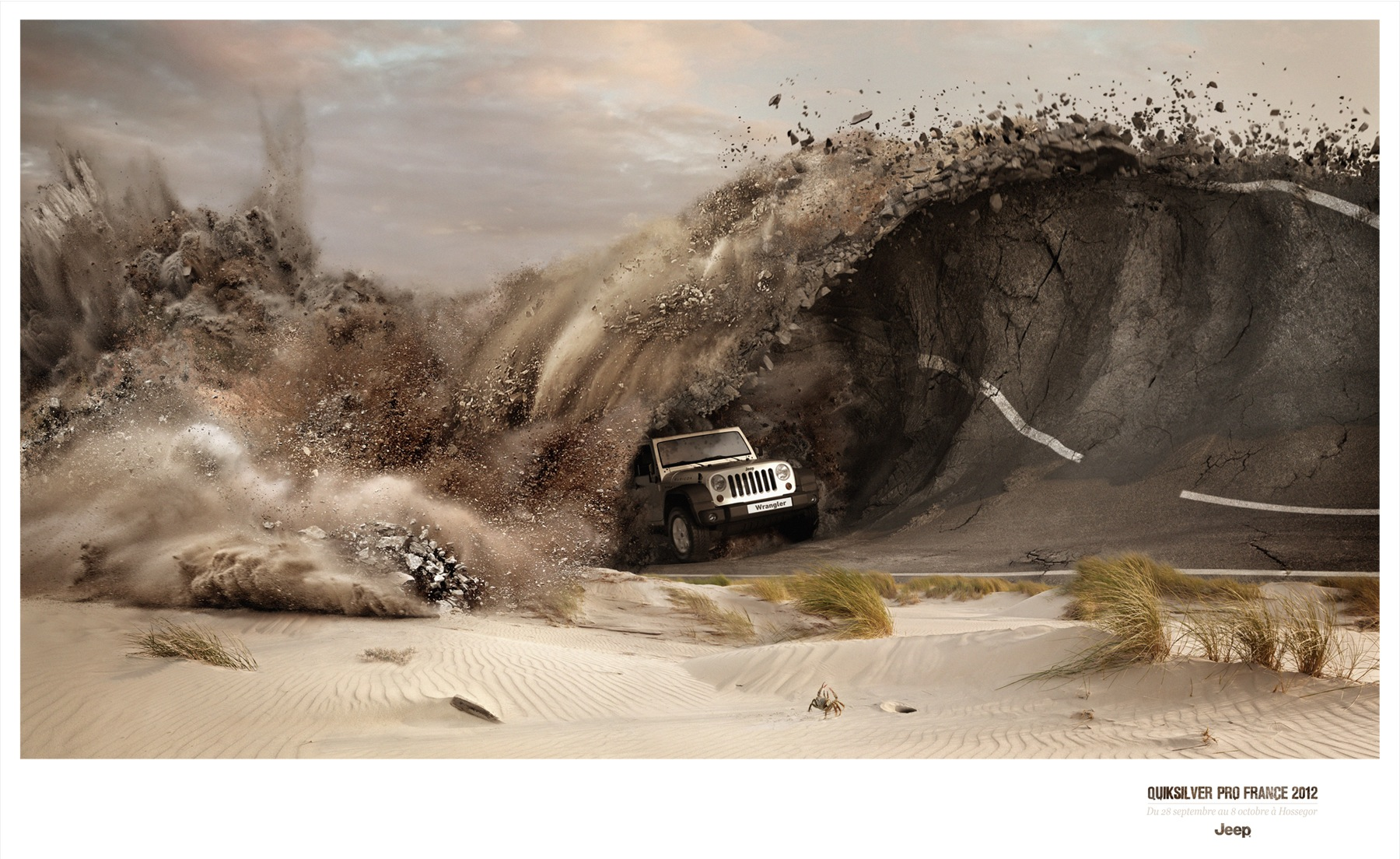 Jeep Girl Wave